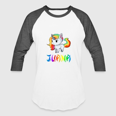 Juana Unicorn - Baseball T-Shirt