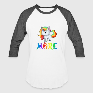 Marc Marc Unicorn - Baseball T-Shirt