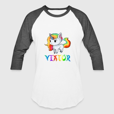 Viktor Unicorn - Baseball T-Shirt