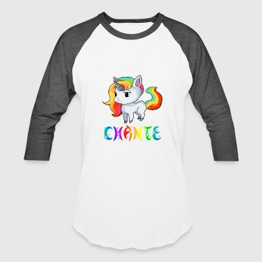 Chante Unicorn - Baseball T-Shirt
