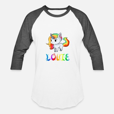 Louie Louie Unicorn - Unisex Baseball T-Shirt