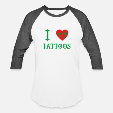 Tint love tattoos taetowiert needle geschenk farb tinte - Baseball T-Shirt