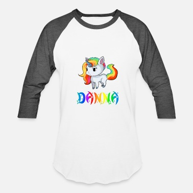 Danna Danna Unicorn - Baseball T-Shirt
