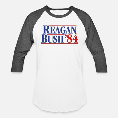 Template Presidential Election Reagan - Bush '84 campaign - Unisex Baseball T-Shirt