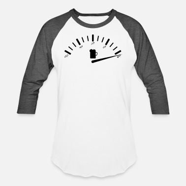 Fuel Gauge I need beer, fuel gauge - Unisex Baseball T-Shirt