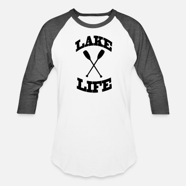 Lake Lake life - Unisex Baseball T-Shirt