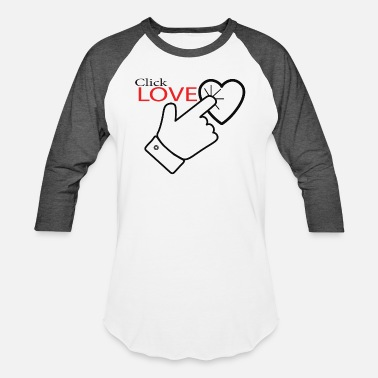 Click click love by Lusign & TNLD - Unisex Baseball T-Shirt
