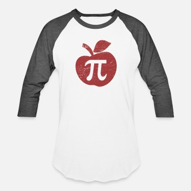 Apple Pie Pi Day - Unisex Baseball T-Shirt