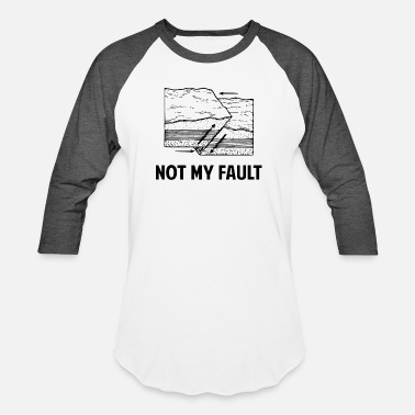 Andreas Not My Fault - Unisex Baseball T-Shirt