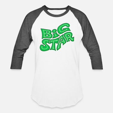 Big Stars big star - Unisex Baseball T-Shirt