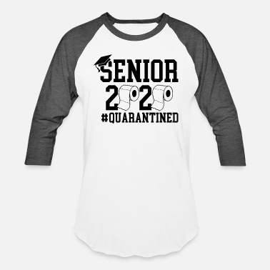 Prom Senior 2020, Graduation T-shirt, Quarantined Shirt - Unisex Baseball T-Shirt