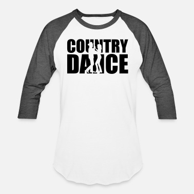 Western Country dance - Unisex Baseball T-Shirt
