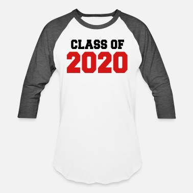 Graduation Class of 2020 - Unisex Baseball T-Shirt