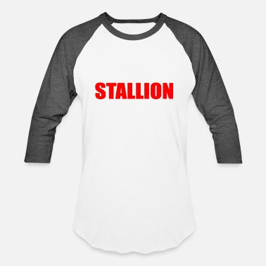 Stallion stallion - Baseball T-Shirt