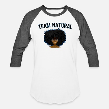 Afro Girl Best Selling AFRO TEAM NATURAL HAIR Black Pride - Unisex Baseball T-Shirt