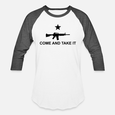 Come Come And Take It AR - Unisex Baseball T-Shirt