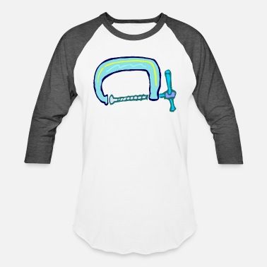 Clamp Roughly drawn G clamp - Unisex Baseball T-Shirt