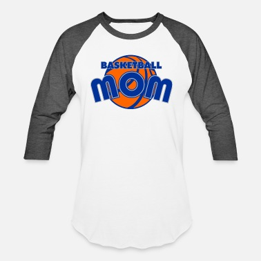 Basketball Mom Funny Basketball mom - basketball mom - Baseball T-Shirt