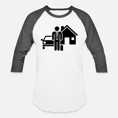 Insurance Insurance broker - Unisex Baseball T-Shirt