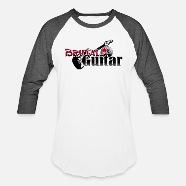 BRUTAL GUITAR - Baseball T-Shirt