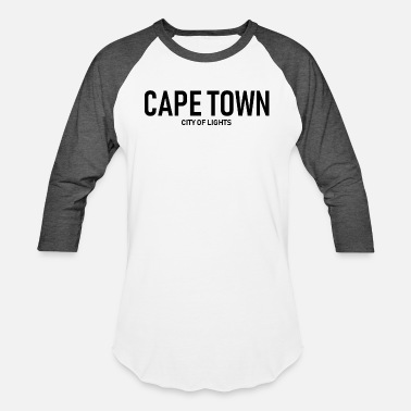 Cape Town Cape Town - City of Lights - South Africa - Unisex Baseball T-Shirt