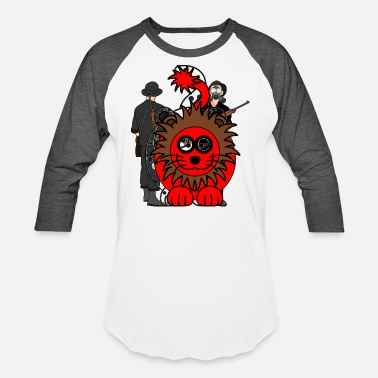 Rose Red Lion - Unisex Baseball T-Shirt
