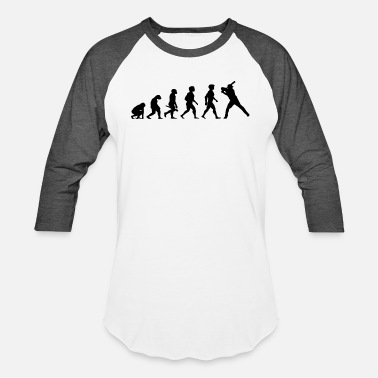 Evolution Of A Softball Evolution Baseball Softball Player Game - Baseball T-Shirt
