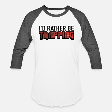 Issa Rae I'd Rather Be Trapping - Baseball T-Shirt