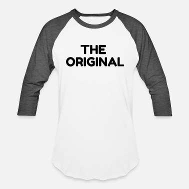 Remix The Original Funny Parent Child Set - Unisex Baseball T-Shirt
