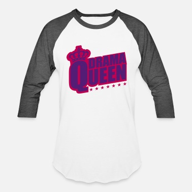 The Bitch star woman drama queen princess female crown pink - Baseball T-Shirt