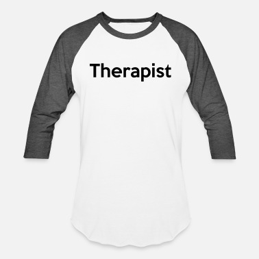 Digital Art Therapist - Unisex Baseball T-Shirt