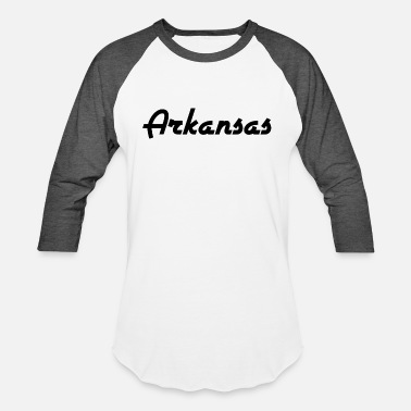 Arkansas Arkansas - Little Rock - US State - United States - Unisex Baseball T-Shirt