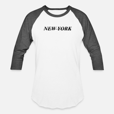 City New York - Baseball T-Shirt