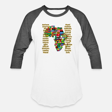 Africa People of Africa - Baseball T-Shirt
