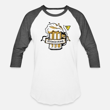 Drinker Designated Drinker - Baseball T-Shirt