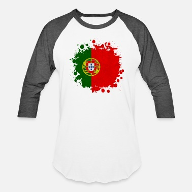 Made In Portugal Portugal Portugal blob - Baseball T-Shirt
