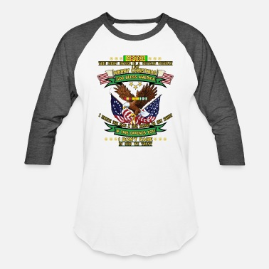 Son Of Vietnam Veteran Notice This Shirt Owner Is A Vietnam Veteran I Say - Unisex Baseball T-Shirt