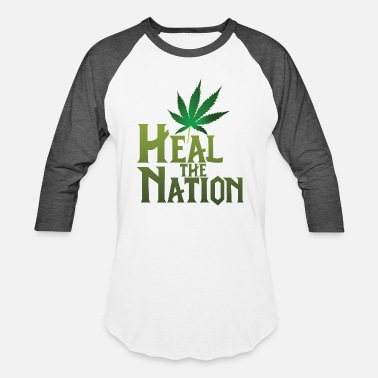Healing Heal the Nation - Unisex Baseball T-Shirt