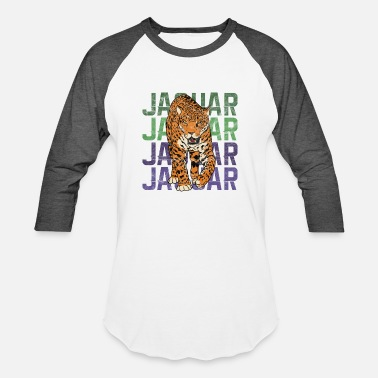 Jaguar Cat Big Cats - Jaguar - Baseball T-Shirt