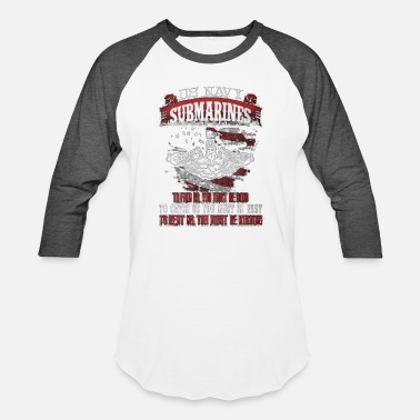 US Navy Submarines Tshirt - Baseball T-Shirt