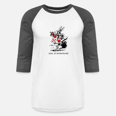 4bd8347967f White Rabbit White Rabbit - aiw - Unisex Baseball T-Shirt
