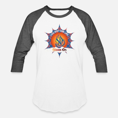 Phish Fishman Donut Blaze On Phish Apparel - Unisex Baseball T-Shirt