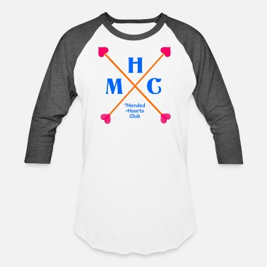 Heart Mending Mended hearts club - Baseball T-Shirt