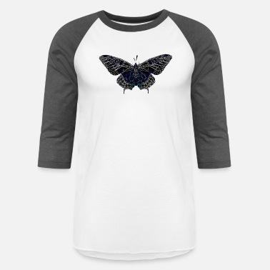 24746243 Black Butterflies Design Butterfly Geometry Present Art Design Black -  Unisex Baseball T-Shirt