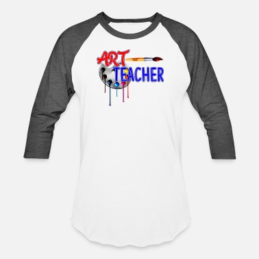 Surprise Art Teacher Shirt - Art Teacher T shirt - Unisex Baseball T-Shirt