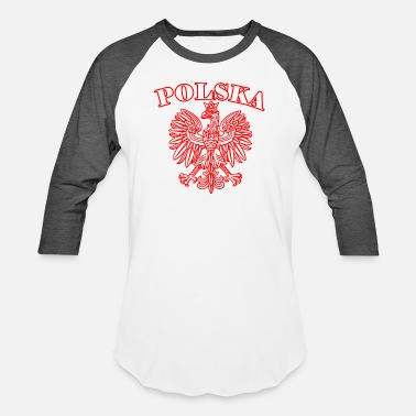 Love Polska Polska - Baseball T-Shirt