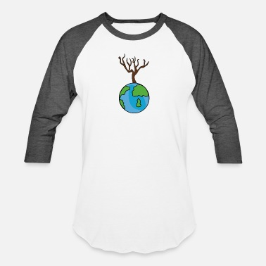 Planet There is no Planet B Quote Earth Day 2018 T-Shirt - Baseball T-Shirt