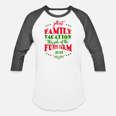 Family Family Vacation 2018 Matching Shirts - Baseball T-Shirt