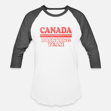 Canada Independence Day Canadian Independence Day Canada Drinking Team - Baseball T-Shirt
