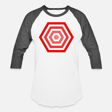 Hexagon hexagon - Unisex Baseball T-Shirt